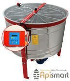 Cassette honey extractor, Ø1200mm, 12 Dadant, with half automatic steering and partitions catalogue nr