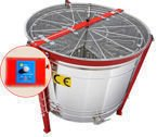 Cassette honey extractor, Ø1200mm, 16 Dadant, with half automatic steering and partitions
