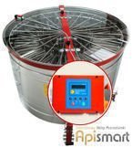 Cassette honey extractor, Ø1200mm, 16 Langstroth, with half automatic steering and partitions