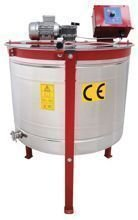 Radial honey extractor, Ø 800mm, with half automatic steering and top drive